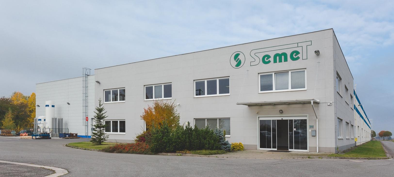 Areál společnosti SEMET s.r.o.